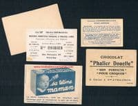1900 -1930s rare swimming & pool related trade cards 5 from France & Spain